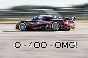 Automotivo Últimas notícias Koenigsegg insinua quebra de recorde de velocidade com o Agera RS