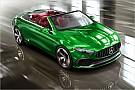 Automotive Designstudie: Mercedes zeigt Cabrio-Version der A-Klasse