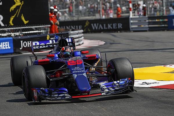 Formule 1 Réactions Kvyat critique la Toro Rosso malgré la performance de Sainz