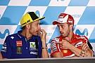 Rossi: Kesuksesan Dovizioso bisa dijadikan contoh