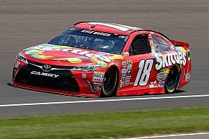 NASCAR Cup Qualifying report Defending Brickyard 400 winner Kyle Busch earns pole position