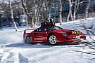 Відео: Дріфт на Ferrari F40 по снігу