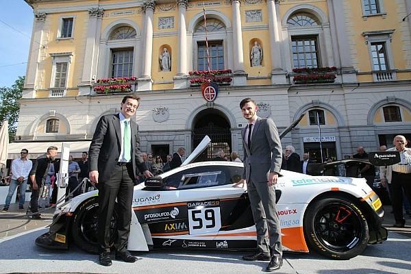 BES La McLaren di Alex Fontana nel cuore di Lugano!