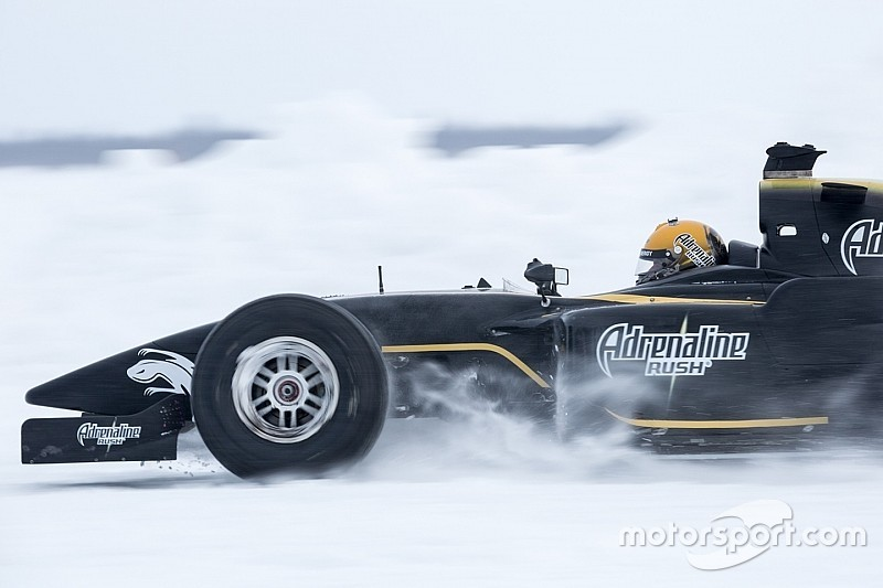 Алешин установил рекорд скорости за Полярным кругом