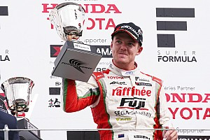 Super Formula Race report Fuji Super Formula: Cassidy takes maiden win