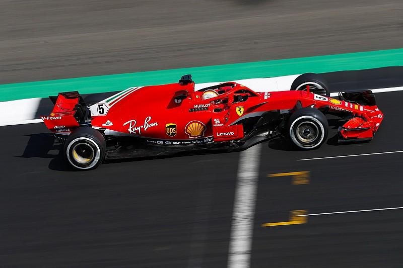 Vettel reage e supera Hamilton no TL2 em Silverstone