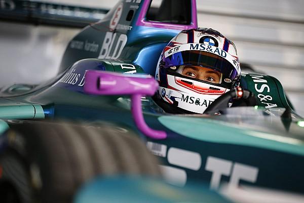 Formula E Son dakika Blomqvist şanslı Formula E yarışında