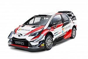 WRC 速報ニュース フロントの空力を改善。トヨタ、2018年型のヤリスWRCを公開
