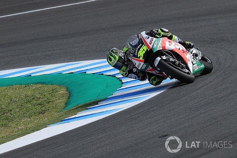 Crutchlow se llevó la pole en Jerez con récord de vuelta incluido