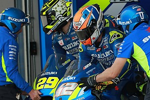 La concurrence entre Rins et Iannone a aidé Suzuki