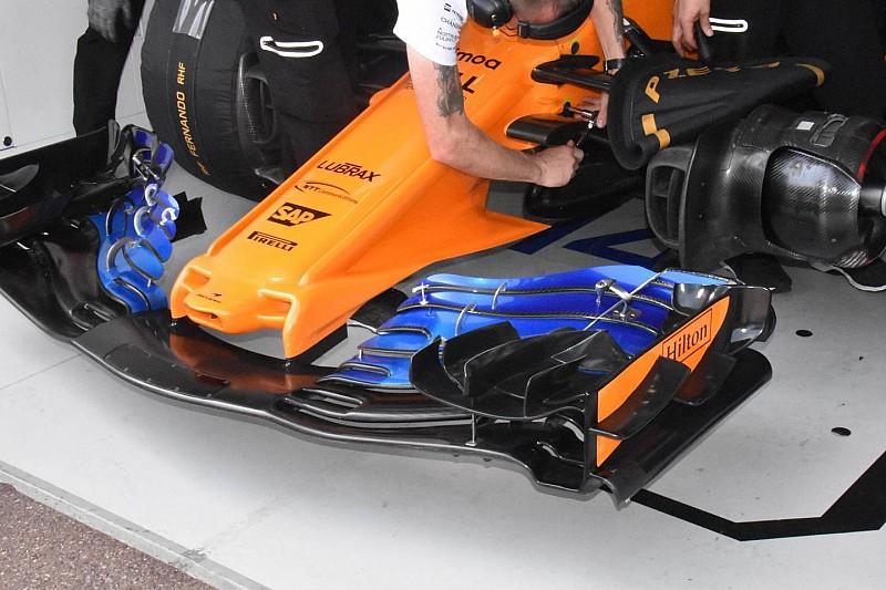 Az új szárny, amit félt bevetni a McLaren Monacóban
