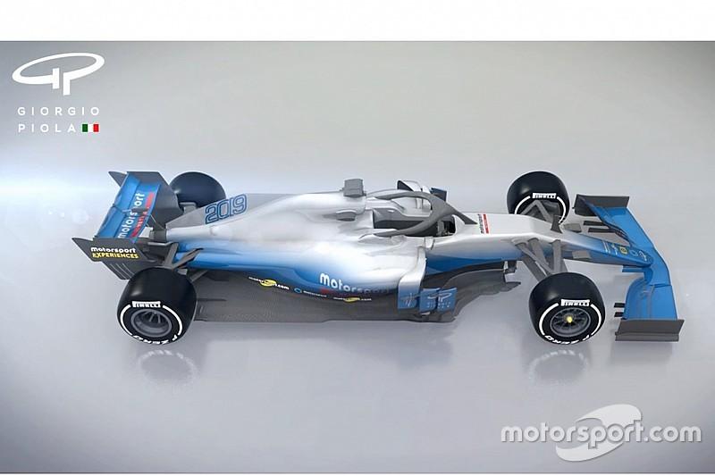 EKSKLUSIF: Seperti apa penampilan mobil F1 2019?