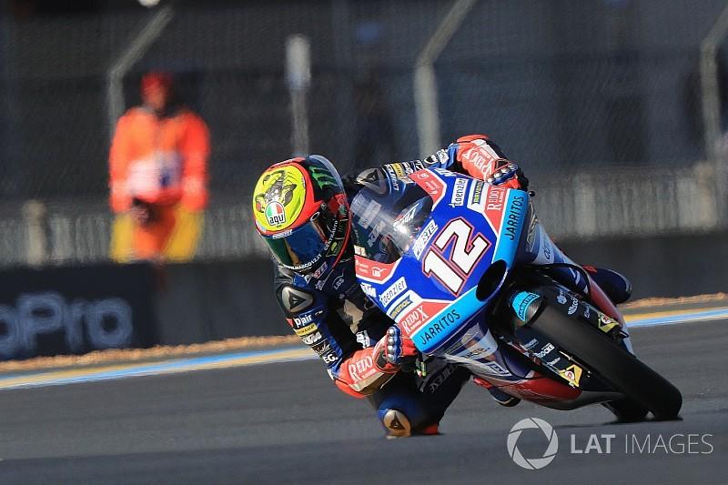 Mondiale Moto3 2018: Bezzecchi resta leader a +4 su