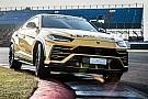 Automotive Lamborghini Urus dresses up to be Super Trofeo Europe Lead Car
