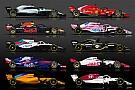 Інфографіка: усі боліди і пілоти Формули 1 сезону-2018
