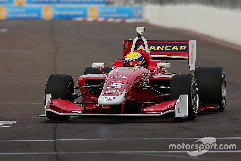 St. Pete Indy Lights: Urrutia wins Race 2, Andretti aces slip up