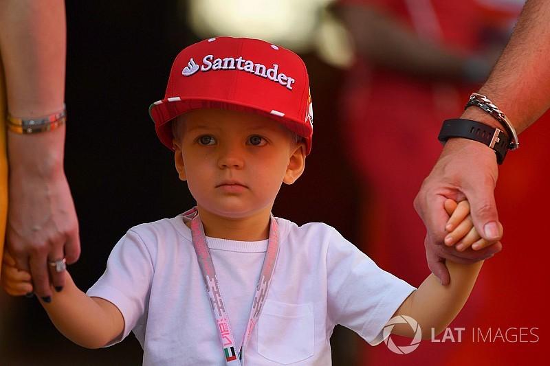 Kimi Räikkönen boldogabb lehet, mint bármikor: mintacsalád?