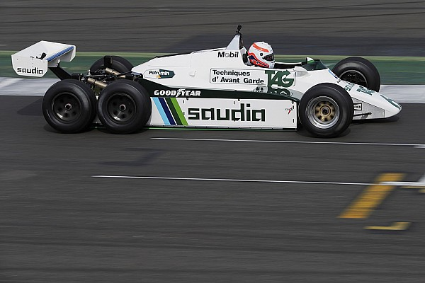 Photos - De belles mécaniques pour les 40 ans de Williams F1