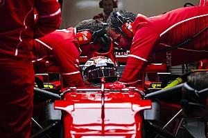 Ferrari: Raikkonen ha la febbre, ma è il più veloce!