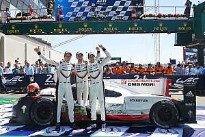 Le Mans 速報ニュース 【ル・マン24h】2号車ポルシェ「リスクを犯し勝利を手に入れた」