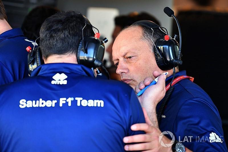 Vasseur: Sauber'in devrime ihtiyacı yok