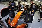 Alonso'nun Honda motoru ile ilgili telsiz mesajları