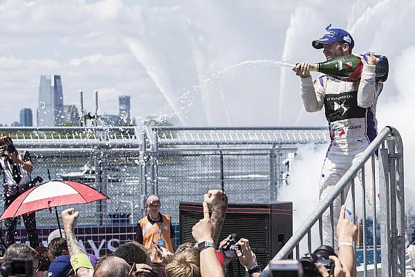 Fórmula E Sam Bird reina en Nueva York también el domingo