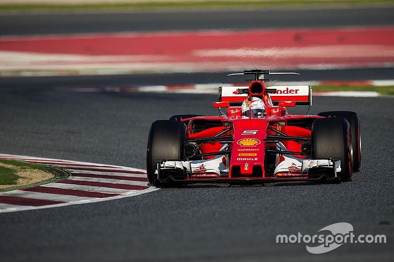 El farol de Ferrari en los test preocupa a Red Bull