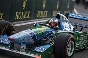 F1 Top List VIDEO: así se vió la vuelta de Mick en el Benetton B194 de Michael Schumacher