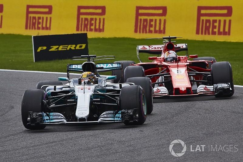 """Vettel: Le retard sur Hamilton """"ne me chagrine pas trop"""""""