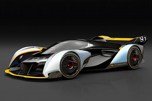 Automotive Breaking news McLaren Ultimate Vision GT Unveiled For Gran Turismo Sport