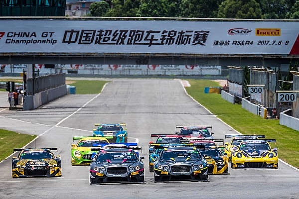 GT Race report China GT Championship wide open after challenging Zhuhai round