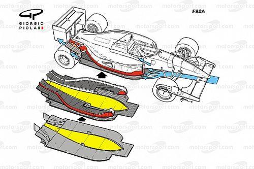 Retroscena Ferrari F92 A: il doppio fondo non era sbagliato