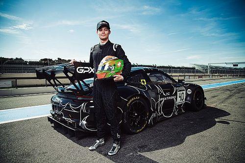 Louis Deletraz en GT World Challenge Europe avec GPX Racing