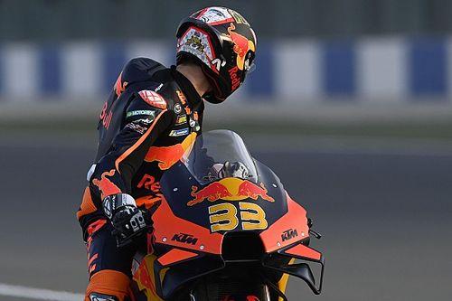 """KTM's Qatar pace makes Binder """"sick to my stomach"""""""