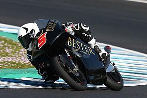 Test Moto3 Jerez: Masia da record, ma poi cade e si fa male. Fenati è secondo