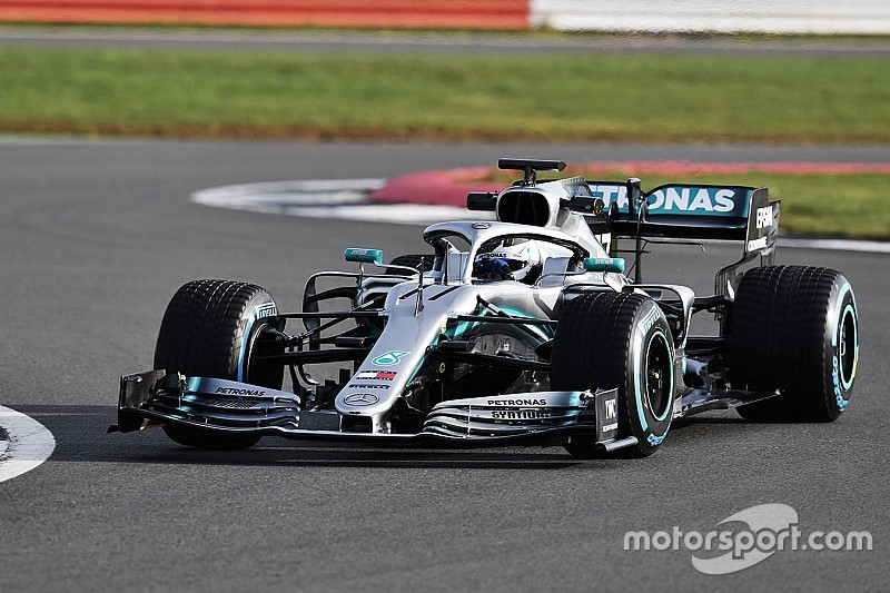 La Mercedes W10 a pour mission d'épargner ses pneus