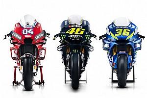 Todas las fotos de los pilotos de MotoGP y sus motos para 2019