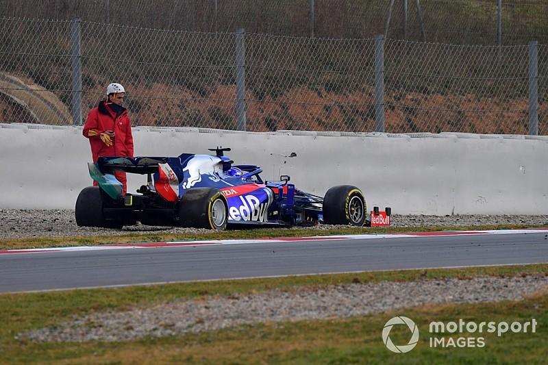 Az F1-es újonc imádkozott, hogy ne pördüljön meg, de csak megpördült