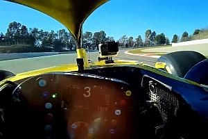 Video: Ricciardo'nun Renault ile ilk turu