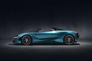 McLaren a présenté la 720S Spider