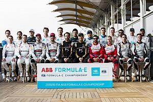 Riyad ePrix: Cuma gününden kareler