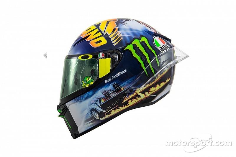Bildergalerie: Valentino Rossis Helmdesign in Misano 2018