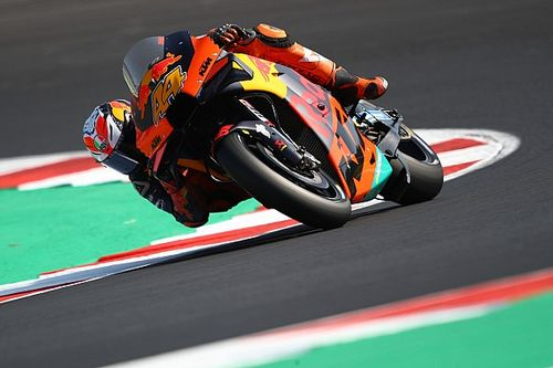 "Pol Espargaro's FP2 crash due to a tyre ""I cannot use"""