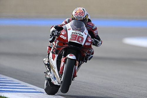 Spanish MotoGP: Nakagami tops FP3, Marquez suffers big crash