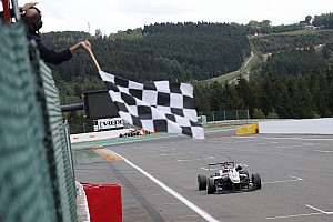 F3 Europe Race report Spa F3: Russell wins Race 2 as Prema struggles