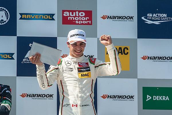 فورمولا 3 الأوروبية: لانس سترول يفوز بالسباق الثالث في نوريسرينغ