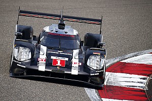 WEC Practice report Shanghai WEC: Porsche edges Audi in opening practice
