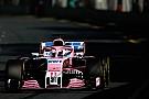 Formula 1 Perez: Force India beklenenden çok daha kötü