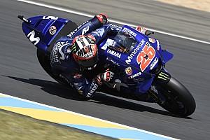MotoGP フリー走行レポート フランスFP3:ビニャーレスがトップ。マルケスは転倒も2番手